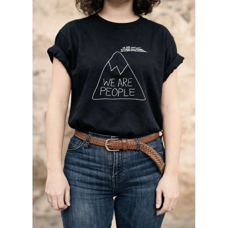 t shirt a fine line summits of my life. Black Bedroom Furniture Sets. Home Design Ideas