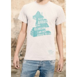 Camiseta 'I am not afraid to live'